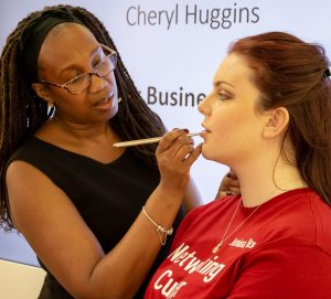 Makeup for headshots with Cherly Huggins