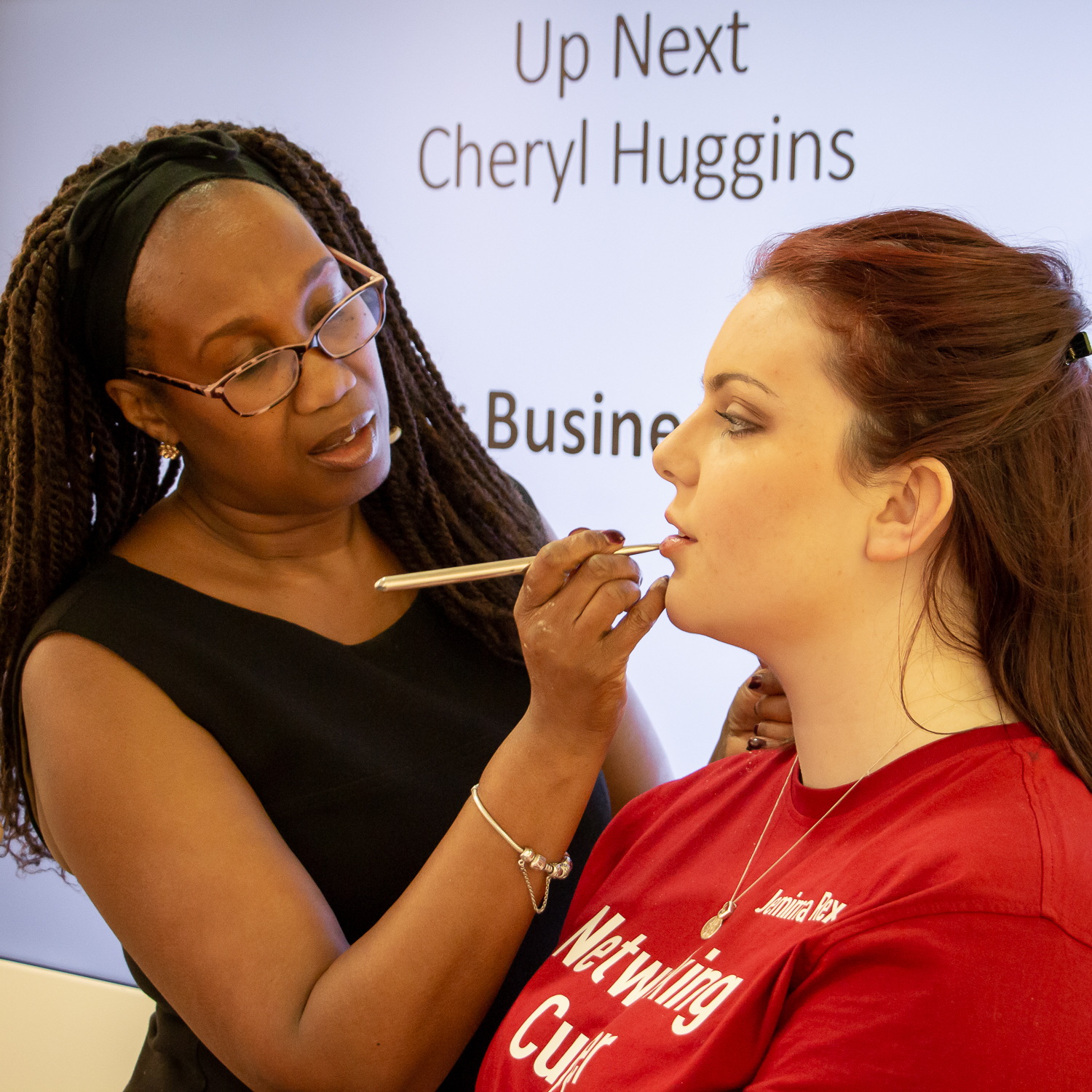 Makeup tips for professional headshots - Michelle Richards