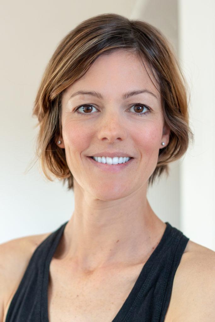 Pilates teacher headshot