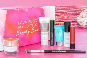 Promotional images for Look Good Feel Better beauty box